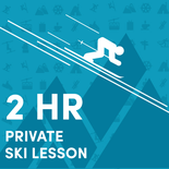 2 Hour Midweek Private Ski Lesson