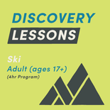 4-Hour Adult Discovery Ski Lesson