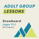 2-Hour Snowboard Adult Group Lesson