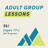 2 Hour Adult Ski Group Lesson