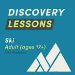 2-Hour Adult Discovery Lesson - Ski