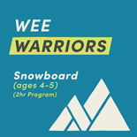 Wee Warriors - Snowboard