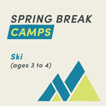 Spring Break Camp Ski (ages 3 and 4)